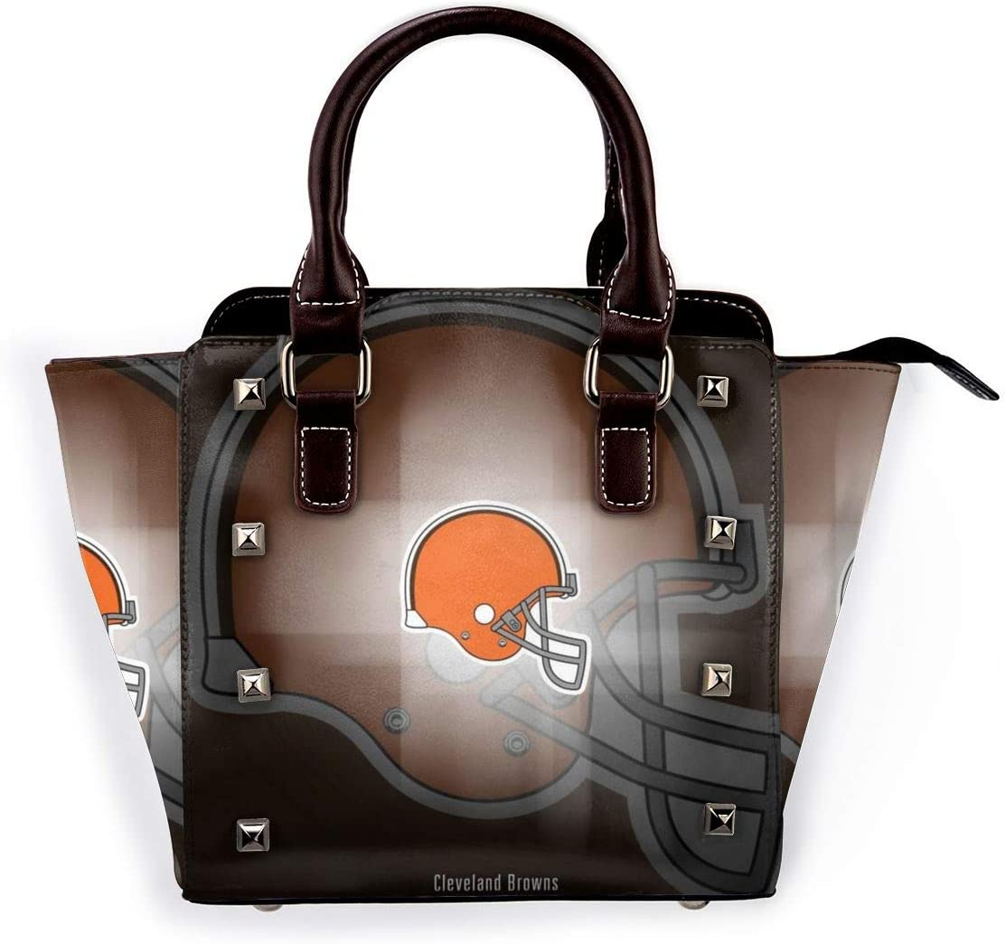 Cleveland Browns Leather Handbag