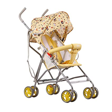 QILEGN Carrito de bebé Carro de bebé Carro Plegable de bebé ...