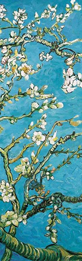 Peel-and-Stick Removable Wallpaper Van Gogh Blossom Almond Branches Tree Spring