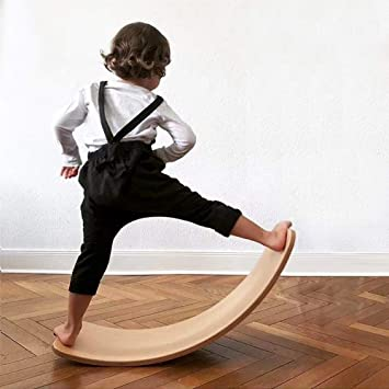 Amazon.com: Life HS Childrens Balance Board Curved Board ...