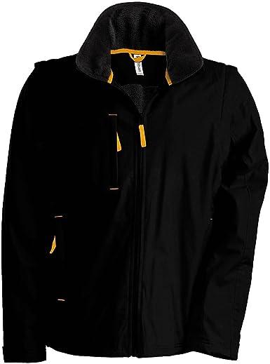 Kariban Mens Hooded Full Zip Waterproof Jacket