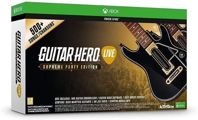 Guitar Hero Live - Supreme Party Edition [Importación Inglesa ...