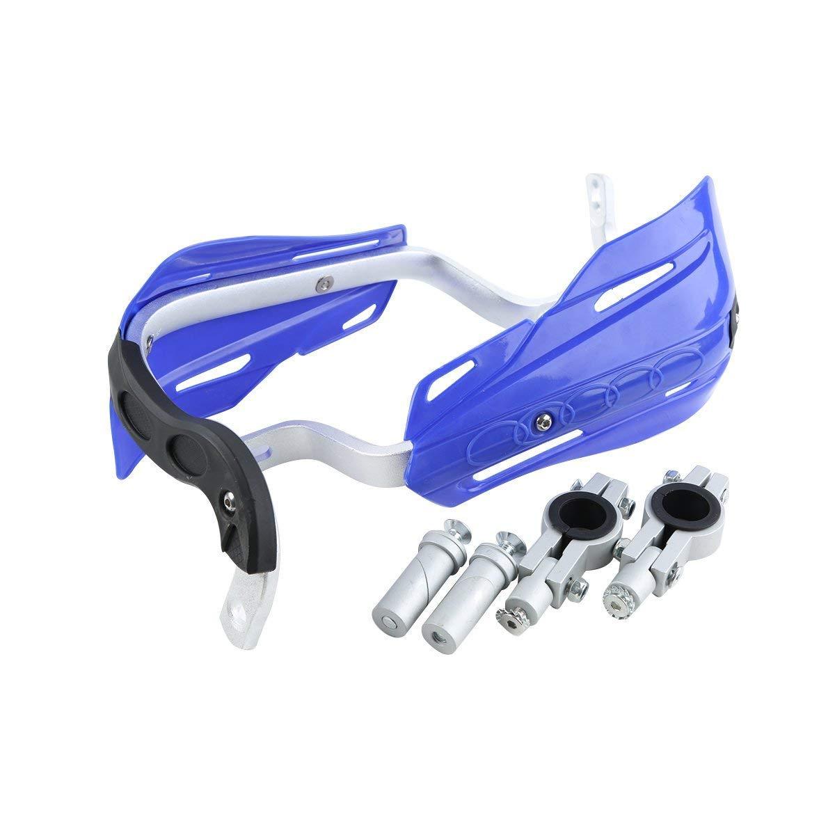 TCMT Blue 7//8 22mm Handlebar Hand Brush Guard Handguards Fits For YAMAHA DT250 TTR225 TTR230 WR250 WR250F