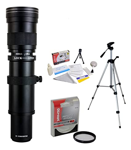 Review Opteka 420-800mm f/8.3 Telephoto