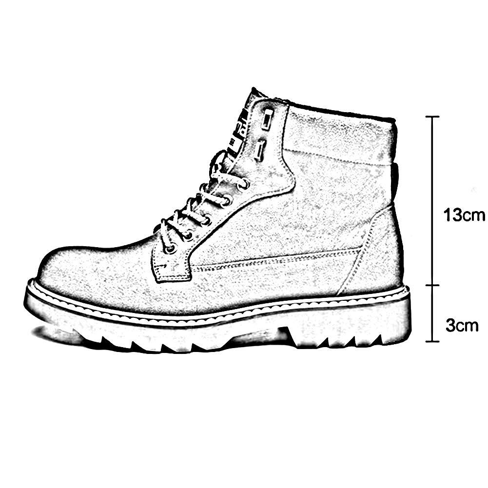 QIDI Martin Stiefel Männer Baumwolle Winter Winter Winter Warm Halten Schüler Draussen (Farbe   braun, größe   US8 EU39 UK6) 9390b0