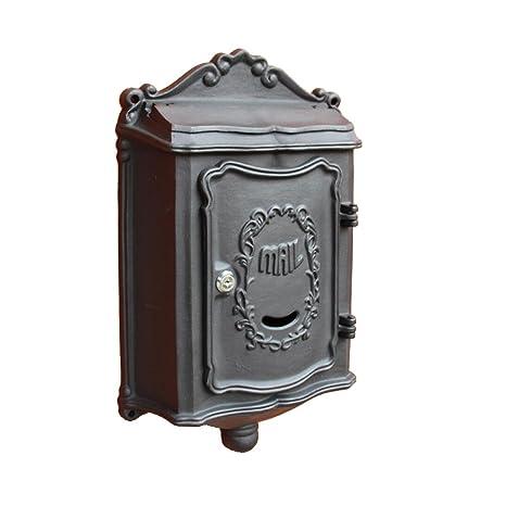 FLY Villa Letter Box Panel Frontal Exterior De Aluminio Fundido De Aluminio Al Aire Libre Caja ...