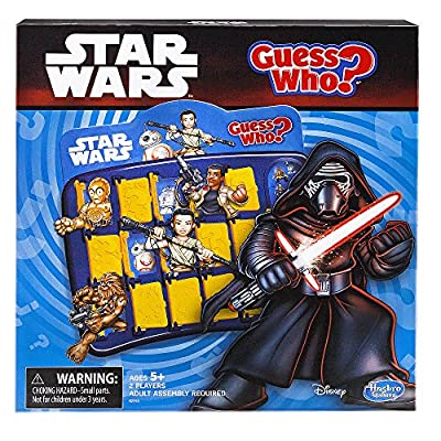 GUESS WHO Disney Star Wars Memory Matching Game by Hasbro: Toys & Games