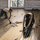 Posters: Gustave Caillebotte Poster Art Print - The Floor Scrapers, 1875 (16 x 16 inches)