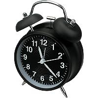 homchen Reloj Despertador de Campana Doble de 10,16