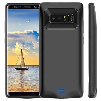Bovon Funda Bateria Samsung Galaxy Note 8, 5500mAh Power Bank Externa Recargable Cargador Portatil Protector Estuche de Carga para Samsung Galaxy Note ...