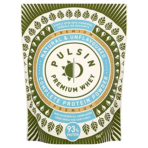 Pulsin' Whey Protein Powder - 1kg (2.2lbs) by Pulsin'