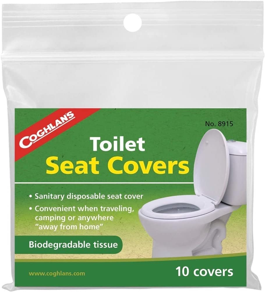 COGHLAN/'S TOILET SEAT COVER NEW IN ORIGINAL PACKAGE FOR CAMPING