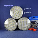 TREFOIL LED Light [TREFOIL SHAPE] for BRONZE Ceiling Fan & Ceiling Light -- COOL WHITE [5200Lumens//24Watts/120Vac]. P/N: SPTL588LM-ABR-CW