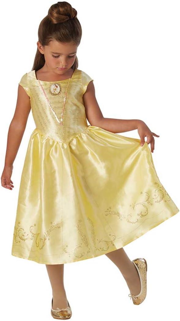 La Bella y la Bestia - Disfraz de Bella para niña, infantil 5-6 años (Rubie's 630607-M)