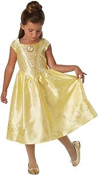La Bella y la Bestia - Disfraz de Bella para niña, infantil 7-8 ...