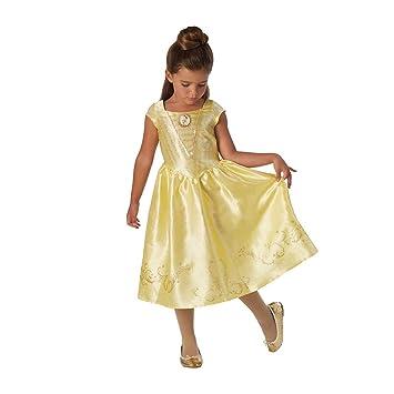 La Bella y la Bestia - Disfraz de Bella para niña, infantil 5-6 años (Rubies 630607-M)