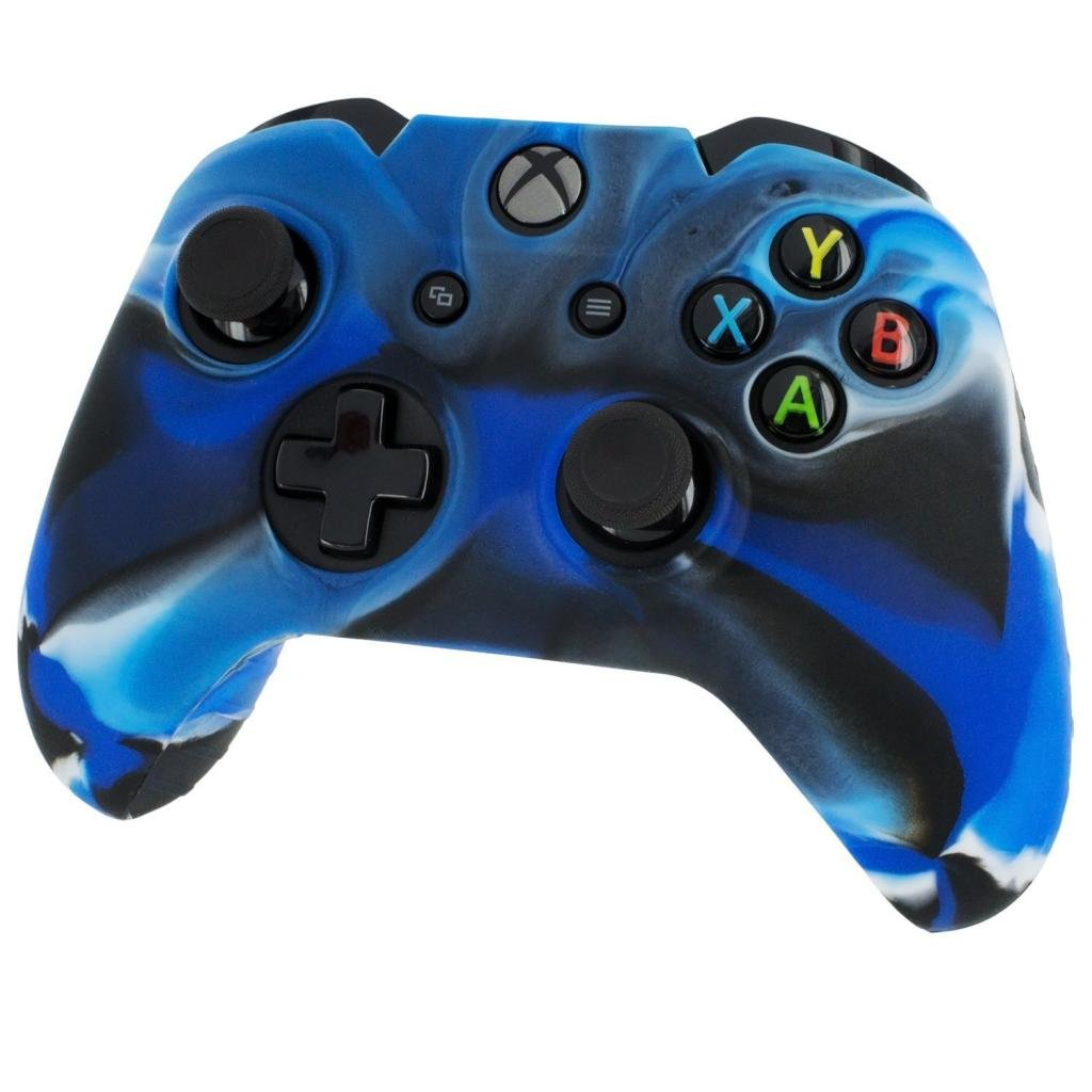 Amazon.com: Silicone Skin Protective Cover for XBOX One Controller ...