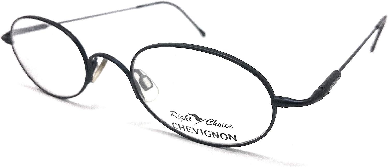 Chevignon Sam E011 F855 - Gafas de vista para hombre y mujer, color azul vintage