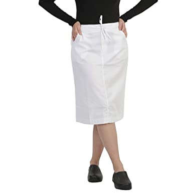 73b98e81376 Image Unavailable. Image not available for. Color: MAZEL UNIFORMS Womens  MID Calf Length Scrub Skirt with Drawstring