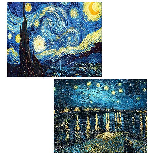 2 Pack DIY 5D Diamond Painting by Number