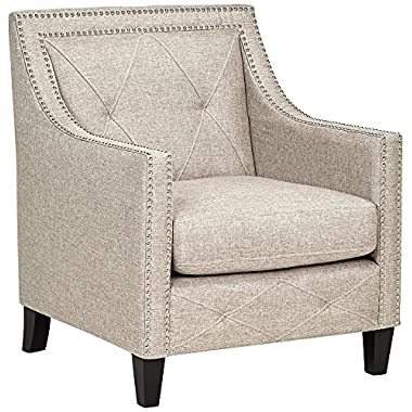 Belford Heirloom Gray Upholstered Armchair