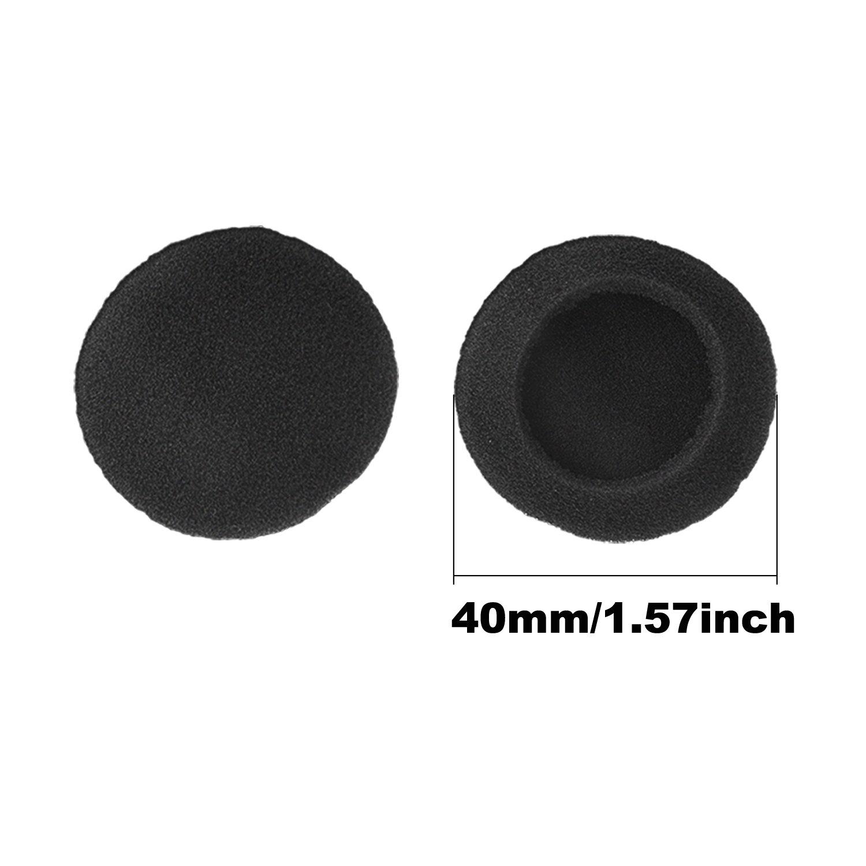 Sunmns 40mm Earpads Ear Pad Foam Cushion Cover for Motorola S305/ Sony Q21 Q23 Q23/ MDR-Q22LP/ MDR-Q33/ Panasonic RR930/ Logitech H555 Headphones, 5 ...