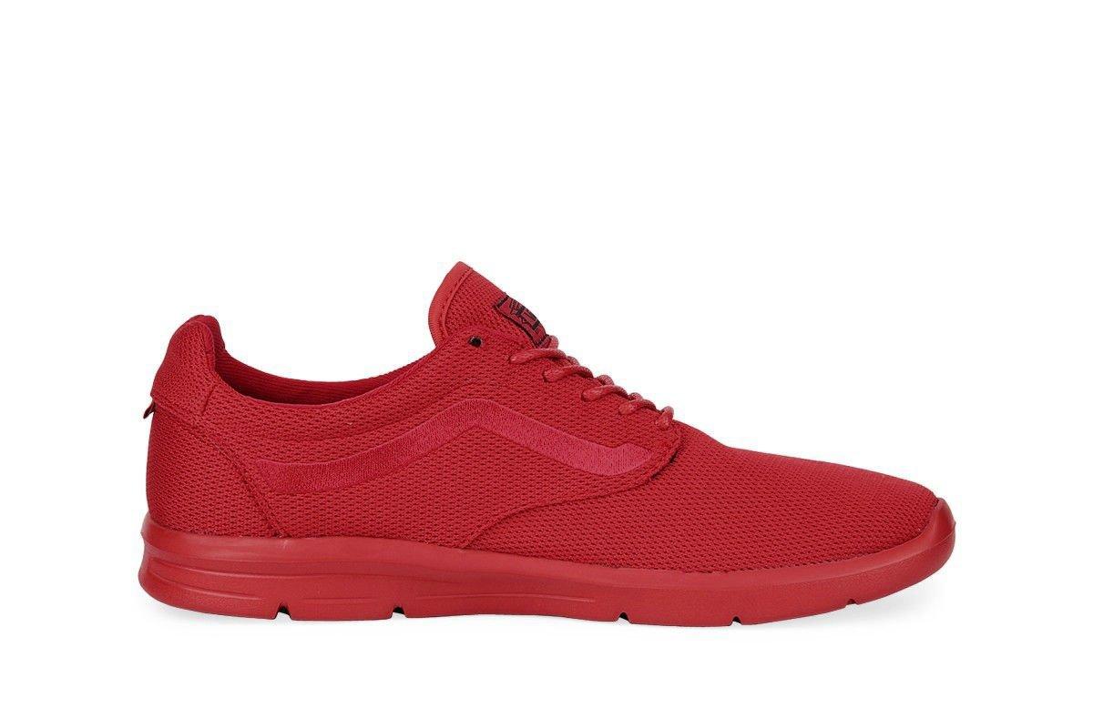 Vans Men's Reflective ISO 1.5 Sneakers B0752TM6MZ 9 B(M) US Women / 7.5 D(M) US Men|Mono Red