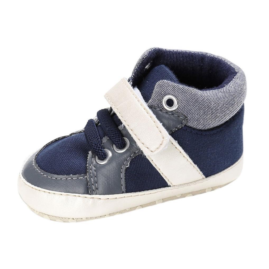 0-18 mois chaussures de bébé, Amlaiworld Fille Garçon semelle molle Chaussure Sneakers (1/0-6m, Rouge) Amlaiworld Bébé Chaussures