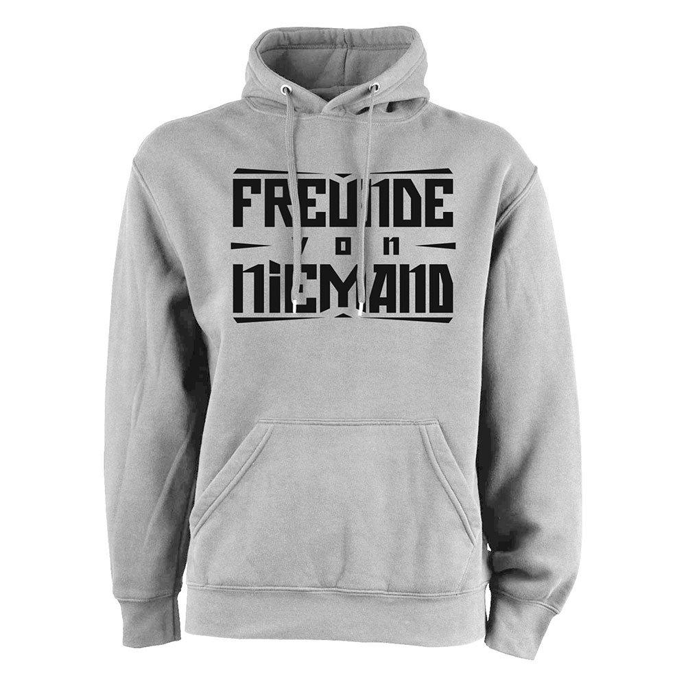 Freunde von Niemand - Logo Hoodie grau