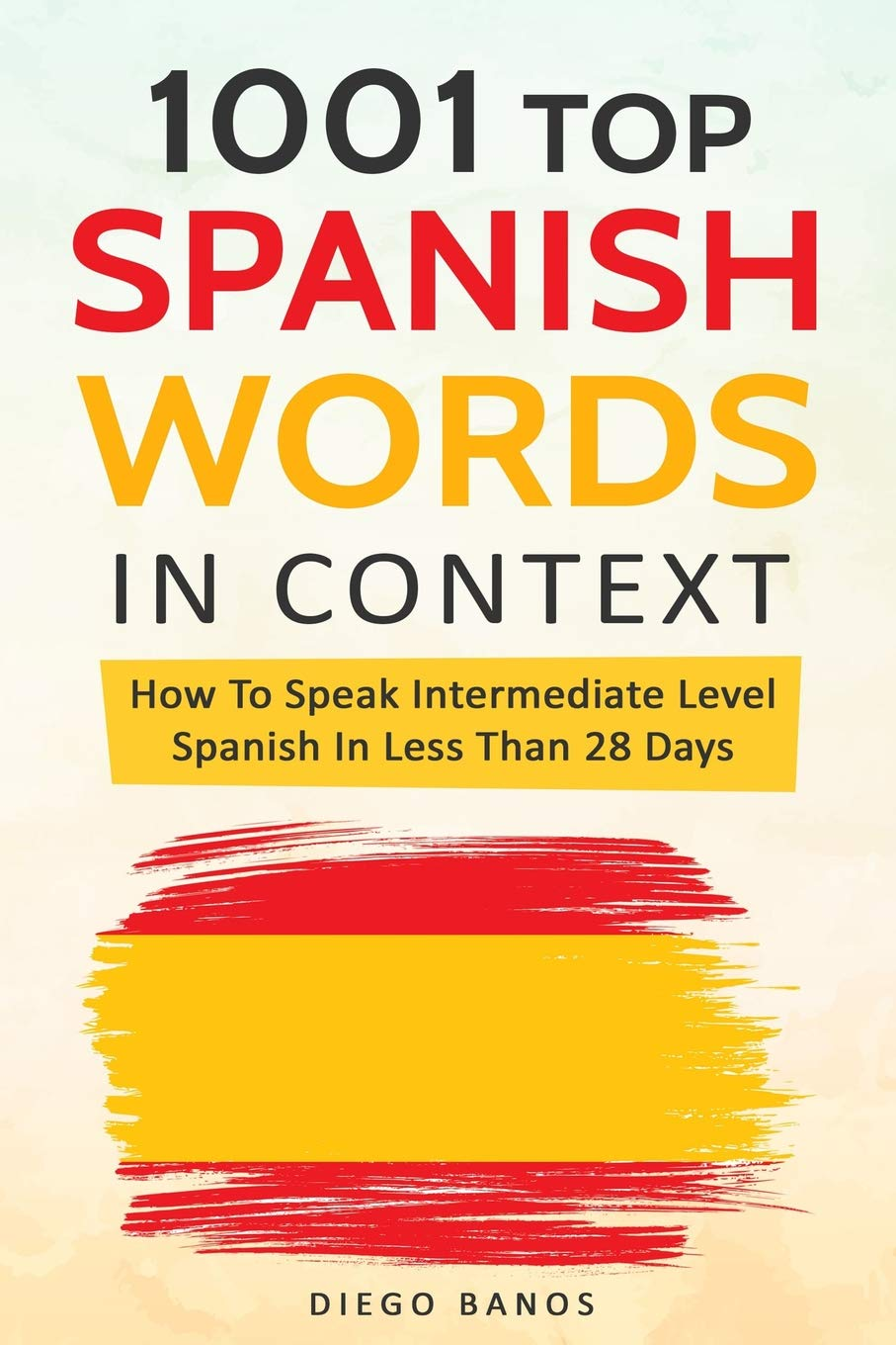 1001 Top Spanish Words Context product image