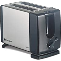 Bajaj ATX 3 750-Watt Auto Pop-up Toaster (Black/Silver)