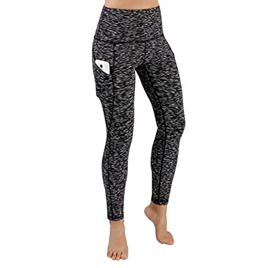 Amazon.com: Usstore Women Yoga Pants Casual Fitness Sports ...