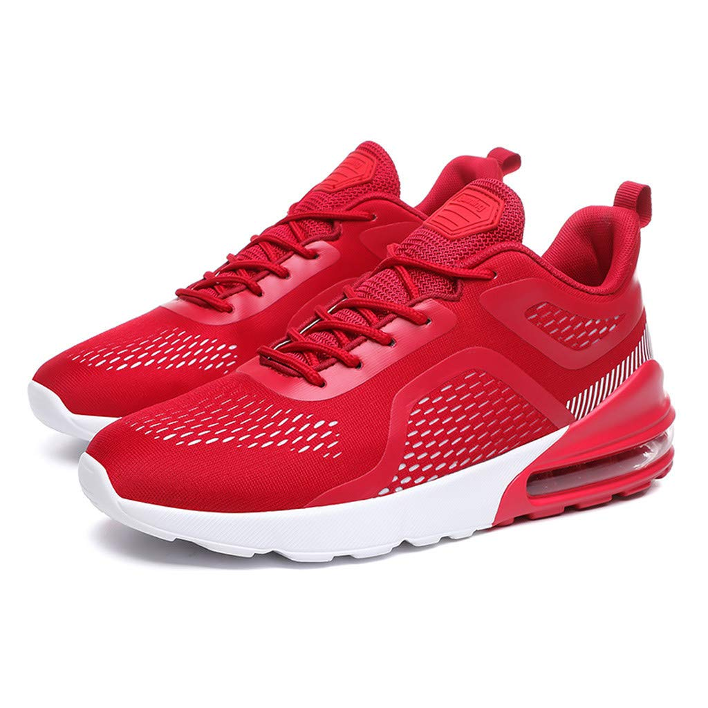 Mysky Fashion Men Leisure Brief Weight Athletic Sport Running Shoes Men Mixed Color Comfortable Flat Sneakers