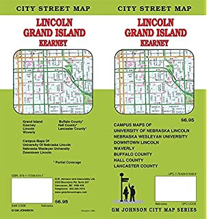 Lincoln Grand Island Kearney Nebraska The Seeger Map Company Inc