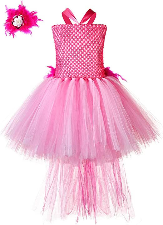 Amazon.com: Tutu Dreams Disfraz de flamenco para niñas de 1 ...