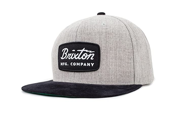 a0df210753f Amazon.com  Brixton Men s Jolt Medium Profile Adjustable Snapback ...