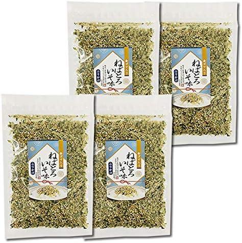 山根食品 ねばとろふりかけ 磯味 40g×4袋まとめ買いセット 国産昆布使用