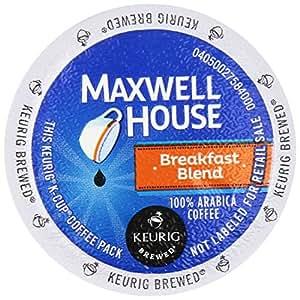 Keurig - MAXWELL HOUSE BREAKFAST BLEND K CUP COFFEE 72 COUNT