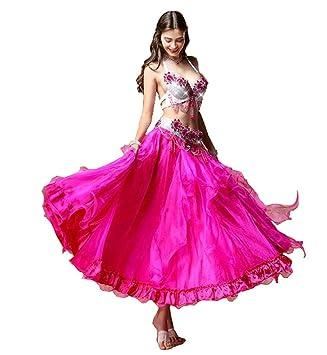 NANXCYR Falda de Danza del Vientre de Hadas para Mujer Traje de ...