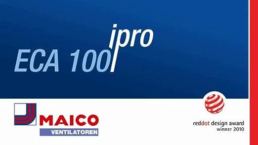 Maico Eca100 Ipro H Kleinraumventilator Amazon De Baumarkt