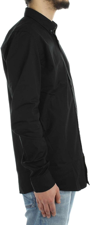 Only /& Sons Man Long Sleeve Shirt 22006013 albiol ls Shirt ex-Slim fit ita s Black