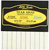M C G Textiles 8.5-Inch Tear Away Canvas Mesh, 12 by 12-Inch