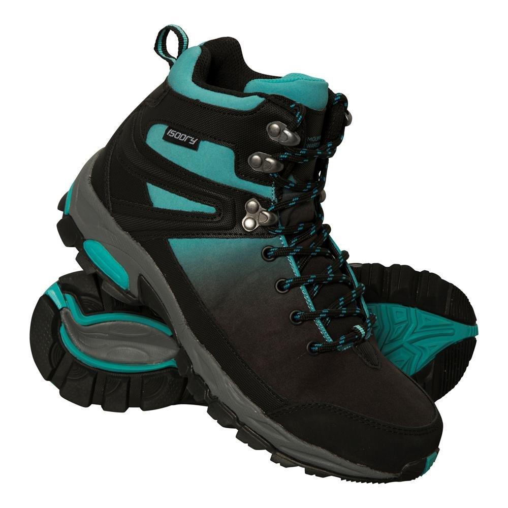 Mountain Warehouse Botas Impermeables Retrieve para Mujer - Botas de montaña Ligeras, Zapatillas Transpirables para Mujer, Zapatillas de Verano - Calzado para Viajar39 EU|Verde agua