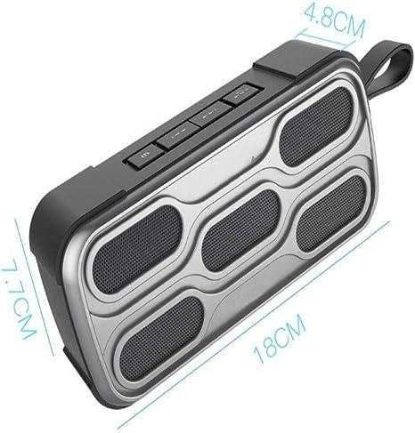 qiyanWaterproof Ipx4 / 5 Bluetooth Speaker FM Radio para teléfono Potente Altavoz inalámbrico portátil Caixa De Som Mini XTR VAR-in Altavoces portátiles Camo: Amazon.es: Electrónica