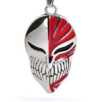 CoolChange collar Bleach con colgante en forma de máscara Hollow: Amazon.es: Juguetes y juegos