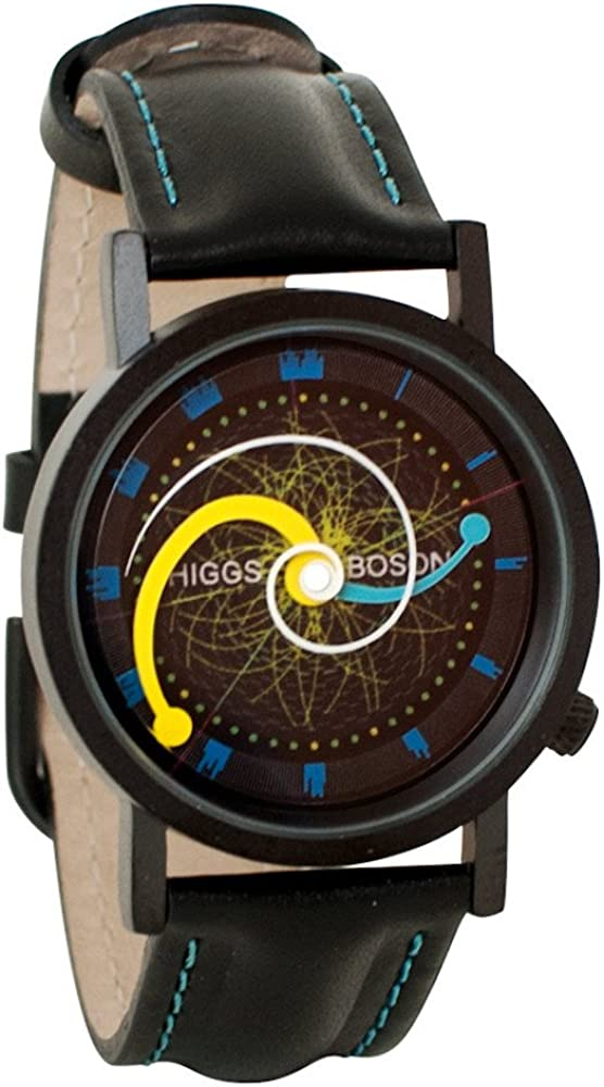 Higgs Boson Large Hadron Collider Unisex Analog Watch