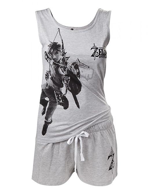 The Legend of Zelda - Pijama - para hombre gris extra-small