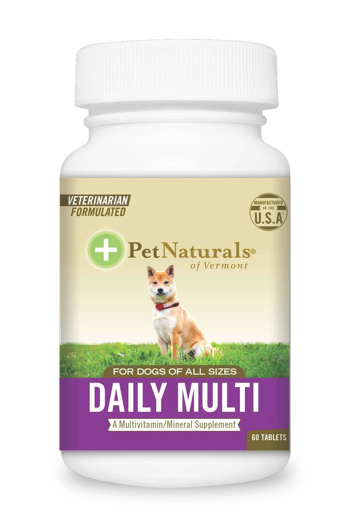 Pet Natural's Of Vermont 60 Count Multivitamin Formula Tablets For Dogs 8