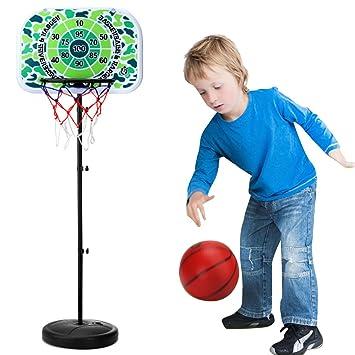 LDB SHOP 73-170 Cm Ajustable aro de Baloncesto niño Tablero ...