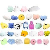 20packSquishy Toys-Mini Squishy Toys with Unicorn Bag Party Favors for Kids Animals Squishy Panda Kawaii Squishies…